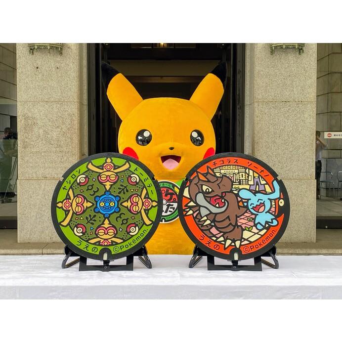 【ポケふた】世界に1つだけのポケモンマンホール蓋が新たに東京・上野に登場!足元を見逃さないで!
