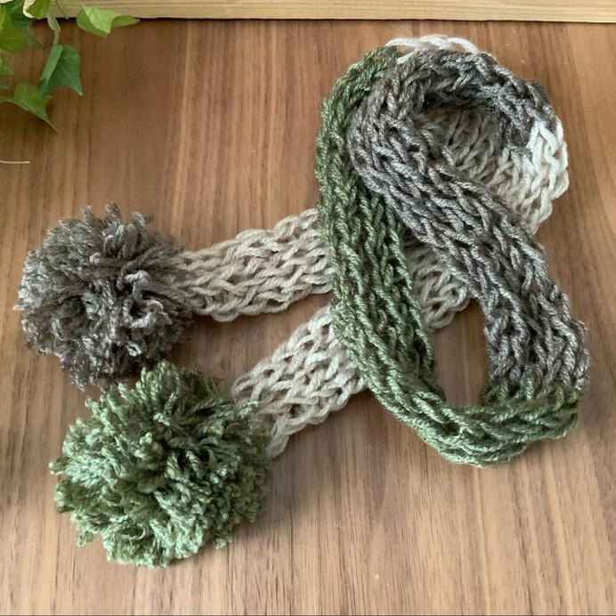 リリアン編みでマフラーが作れる!簡単にできる編み方の種類や子供向けキットを紹介