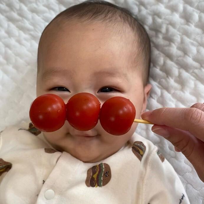 子供のかわいさが100倍に♡いまじわじわキテる【#アンパンマントマト】って知ってる?