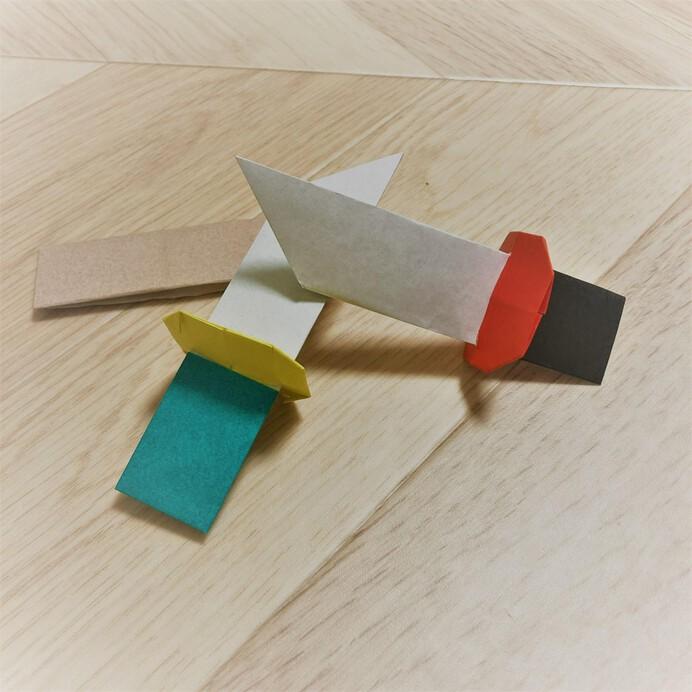 折り紙の刀