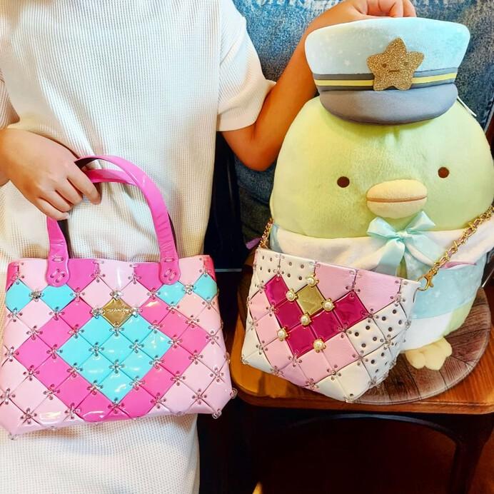 バッグが作れる「パチェリエ」はアレンジ無限大!ディズニーやすみっコ、インスタで見つけたオリジナル作品も紹介!