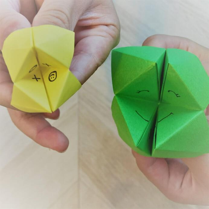 折り紙のパクパク