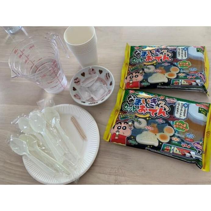 【クレヨンしんちゃん】の知育系菓子「なまいきセットおでん」って知ってる?夏休みのおうち時間つぶしにもぴったり☆