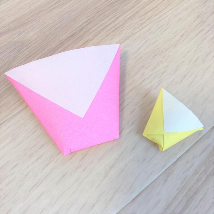 折り紙のコップ
