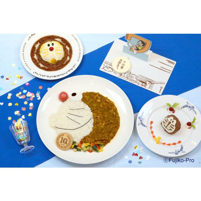 お皿の周囲なんと129.3cm!超ビッグサイズの「ドラえもんじゃカレー」が藤子・F・不二雄ミュージアムに登場したよ☆