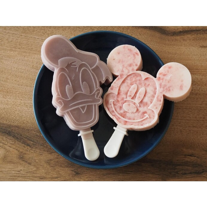 【市販のアイスはもう買わない宣言】ダイソーのディズニーアイスバーメーカーの実力に驚き!